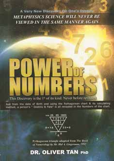 Power Of Numbers, A new Discovery Of Numerology by Dr Oliver Tan, Birthday Numerology.